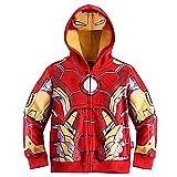 Superhero Cool Jacket Sweatshirt Hoodie for Boys 2T-8T