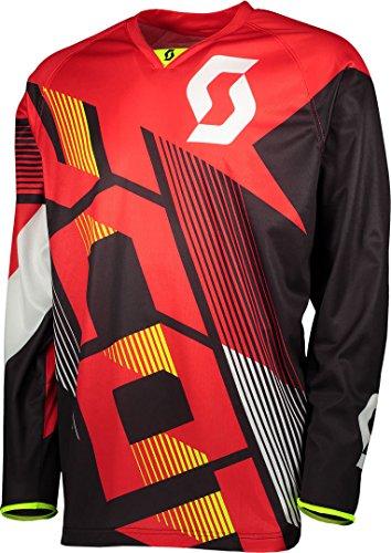 Scott T-Shirt XL Rouge/Noir