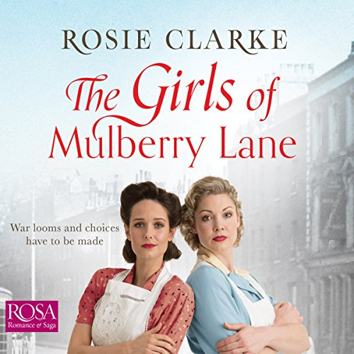 The Girls of Mulberry Lane audiobook cover art
