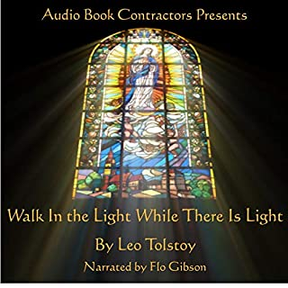 Walk in the Light While There Is Light cover art