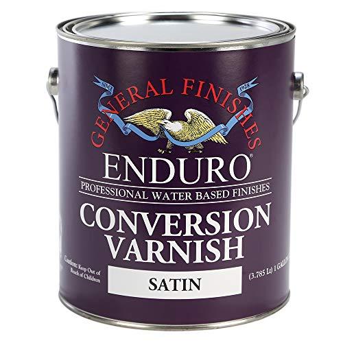 General Finishes Water Based 2K Conversion Varnish Satin Gallon