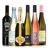 GEILE WEINE Weinpaket EINFACH TRINKEN (6 x 0,75l) Probierpaket mit Weißwein, Rotwein und Roséwein von Winzern aus Deutschland, Italien und Spanien