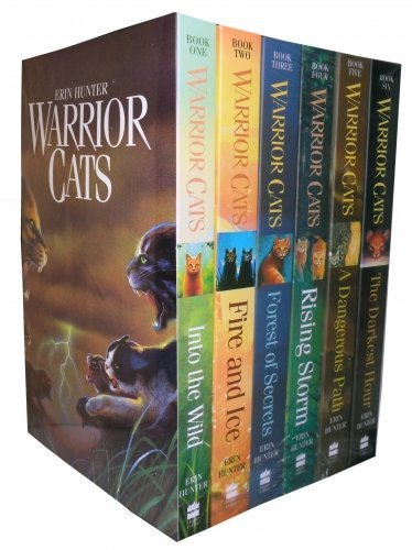 Erin Hunter's Warriors Series (#1-6) : Into the Wild - Fire and Ice - Forest of Secrets - Rising Storm - A Dangerous Path - The Darkest Hour (Children Book Sets : Grade 4 and Up) by Erin Hunter (2005-05-04)