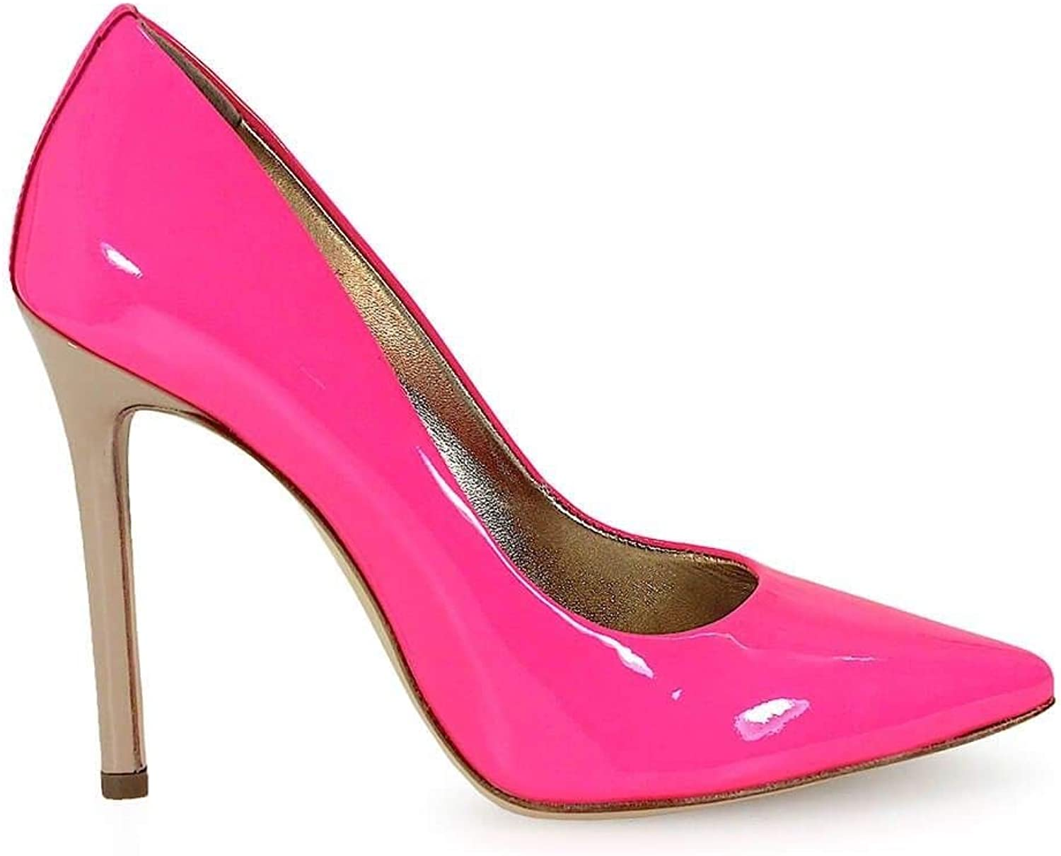 MARC ELLIS Women's MA1001F37 Fuchsia Leather Pumps