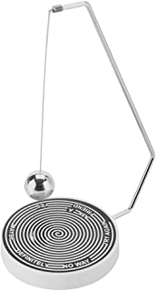 Hilitand Magnetic Decision Maker Ball Swing Pendulum Office Desk Decoration Toy Gift,Perfect Indecisive Moments(Black and White)
