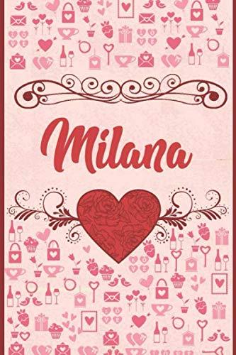 Happy Birthday Milana Mini Heart Tin Gift Present For Milana WIth Chocolates