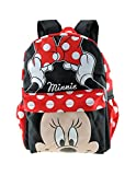 MINNIE MOUSE - KIDS LARGE 16' ALL OVER PRINT BACKPACK - 12559