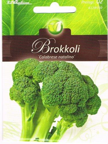 Brokkoli Calabrese grünfrüchtig