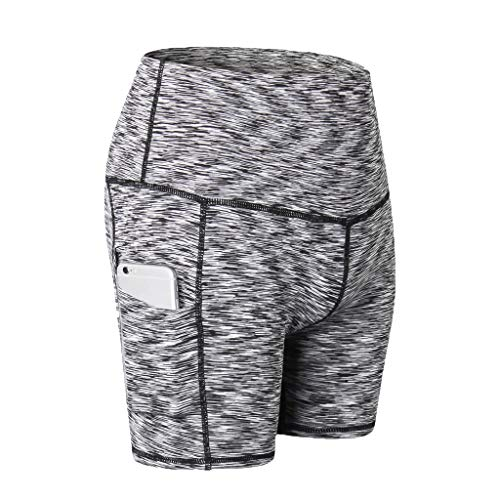 Kobay Femme Longue Taille Haute Leggings Amincissants Maille Patchwork Actif Gym Sport Yoga Fitness Pilates Pantalon Elastiques Stretch Slim Pants