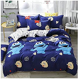 Best cookie monster full size bed sheets Reviews