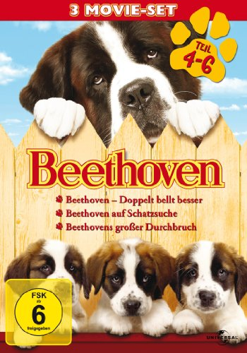 Beethoven - Teil 4-6 [3 DVDs]