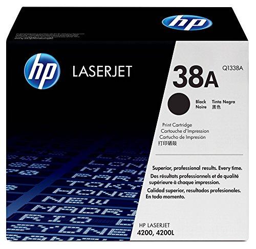 HP 38A Schwarz Original HP LaserJet Tonerkartusche