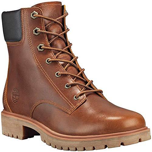Timberland Jayne 6in Waterproof Boot - Women's Medium Brown Full-Grain, 7.5
