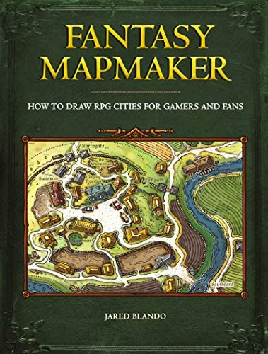 Fantasy Mapmaker How to Draw RPG Cities for Gamers and Fans product image