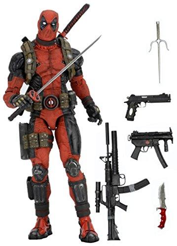 NECA Marvel Deadpool 1/4 Scale Action Figure image