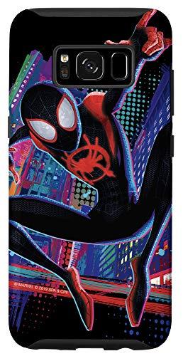Galaxy S8 Marvel Spider-Man Into the Spider-Verse Miles Morales City Case