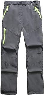 comprar comparacion Pantalón De Esquí Pantalon Impermeable Trekking Niño Softshell Pantalones De Montaña Deporte De Senderismo Niña Pantalones...