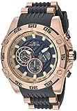 Invicta Men's Speedway Quartz Watch with Stainless Steel Strap, Black, 26 (Model: 30109)