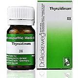 Dr Reckeweg Homeopathy Thyroidinum 3X Trituration (20g) (Pack of 3)