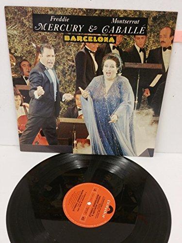 FREDDIE MERCURY & MONTSERRAT CABALLE barcelona, 12 inch single, POSPX 887