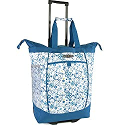 Pacific Coast Signature Large Rolling Shopper Tote Bag Review for Teachers