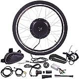 36V Kit de conversión de bicicleta eléctrica, 20',24',26',27.5,28',29',700C pulgadas Trasera Rueda Delantera Kit de conversión de Bicicleta eléctrica con Batería de 36V/15Ah,250 rear wheel,29'