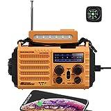 PPLEE Solar Hand Crank Portable Radio