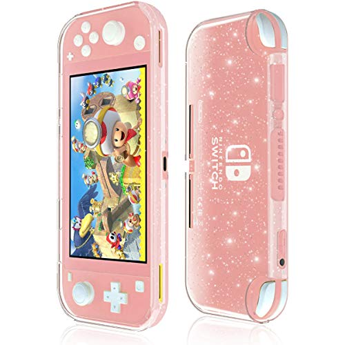 Moxiaomo Protective Case for Nintendo Switch Lite,Liquid Crystal Glitter Bling Soft TPU Cover with Shock-Absorption and Anti-Scratch Protective Case-for Nintendo Switch Lite 2019