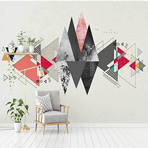 Moderne Wanddeko Design Wandbilder Benutzerdefinierte Fototapete Cartoon Geometrische Wandbild Kindergarten Kinderzimmer Kinder Schlafzimmer Dekoration Tapete-300 X 250CM
