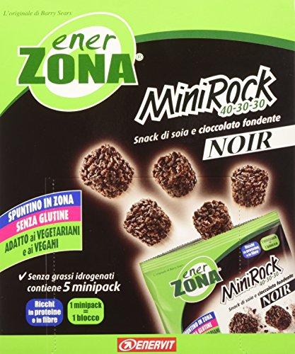 Enerzona Minirock Noir, 1 Astuccio con 5 Bustine - 10 ml