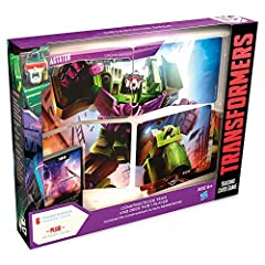 PREPARE FOR BATTLE: The Devastator Deck includes a full team and deck for one player to battle in the Transformers TCG, including six Constructicon Combiner character cards. TOWER OVER THE BATTLEFIELD: Assemble the team of six fearsome Constructicons...