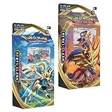 Pokémon Espadón rebelde de Espada y Escudo, Juego de 2 mazos de temática (Zacian & Zamazenta) Company 173-81689