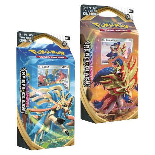 Pokémon 173-81689 - Juego de 2 mazos de pókemon, Espada y Escudo rebelde