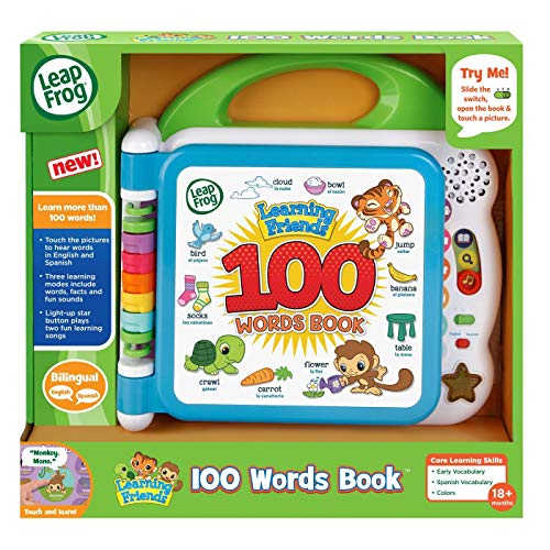 LeapFrog Learning Friends 100 Words Book, Green