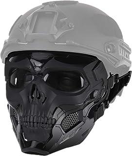 PHOENIX IKKI 2WAY FASTヘルメットに装着 バンド式 髑髏 スカル ドクロ コスプレ ハロウィン パーティー サバゲー フルフェイス タクティカルギア フェイスガード