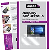 dipos I 2X Schutzfolie klar kompatibel mit Acer Aspire R15 Folie Bildschirmschutzfolie