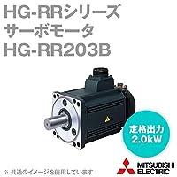 三菱電機 HG-RR203B サーボモータ HG-RRシリーズ (超低慣性・中容量) 電磁ブレーキ付 (定格出力容量 2.0kW) (慣性モーメント 2.65J) NN
