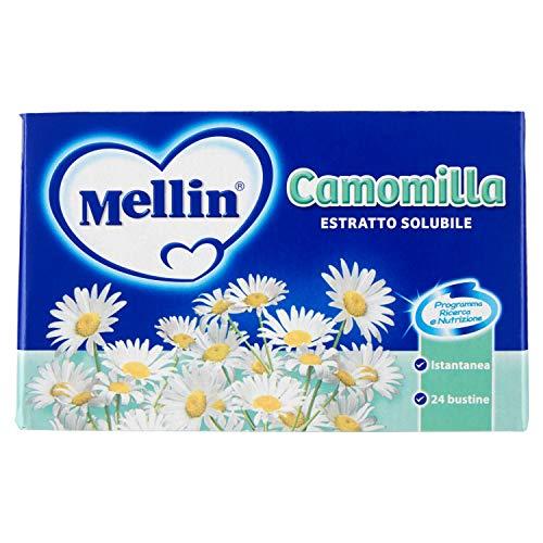 Mellin Camomilla Granulare Solubile - 24 Pezzi da 5 g