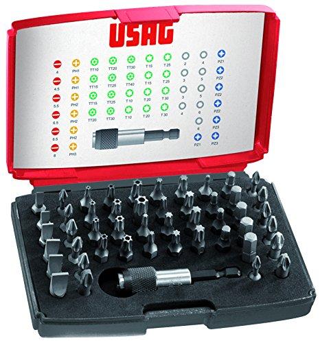 USAG U06920041 - Pack de 49 piezas surtido de puntas