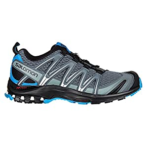 SALOMON XA Pro 3D Mens Trail Running Shoes Stormy Weather/Black/Hawaiian Surf Sz 10