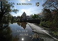 Backnang an der Murr (Wandkalender 2022 DIN A3 quer): Eindruecke und Stimmungen von Fluss und Landschaft (Monatskalender, 14 Seiten )