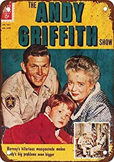 HTFDS Andy Griffith Vintage Look Reproduction Metal Tin Sign 8x12 inches