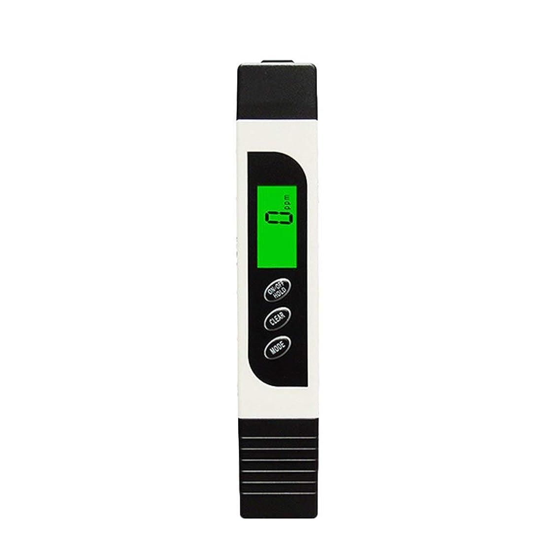 定期的慰め調和のとれた多機能TDSメーターテスターポータブルデジタルペン0.01高精度フィルター測定水質純度テストツール - ホワイト