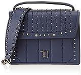 Trussardi Jeans 75B00510-9Y099999, Bolso de mano. para Mujer, turquesa, 23x23x10 cm (W x H x L)