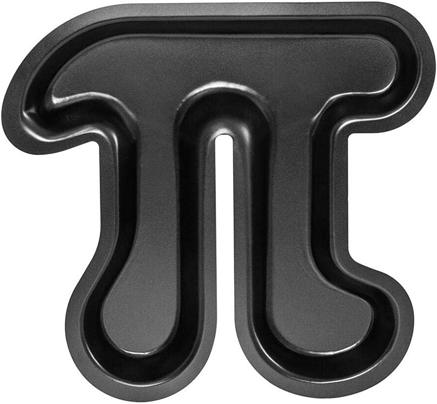 GetDigital Pi Pie Baking Pan Cake Mold Shaped Like The Symbol For Number Pi Nerdy Bakeware For Math Geeks And Science Lovers