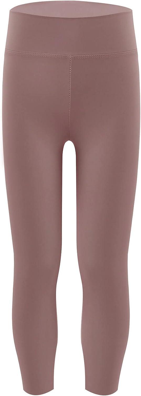 Yeahdor Kids Girls High Waist Leggings Athletic Bottoms Compression Pants Trouser Jogging Outrfits Dancewear