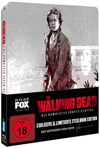 The Walking Dead - Staffel 5 (Limited Jock Comic Steelbook) [Blu-ray]