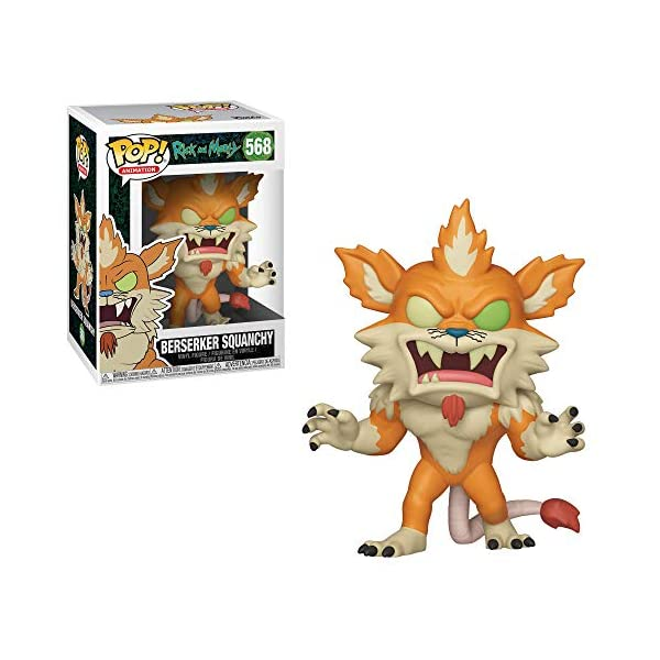 Funko Pop Squanchy Berserker (Rick & Morty 568) Funko Pop Rick & Morty