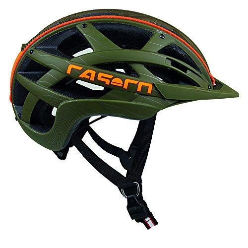 casco Cuda Mountain Casque de Cyclisme M Vert/Orange