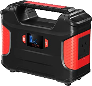 Portable Solar Generator Power Station 66900mAh 248WH 100W Battery Backup DC & AC Port,3x USB Ports, 1x USB-C Port for Cam...